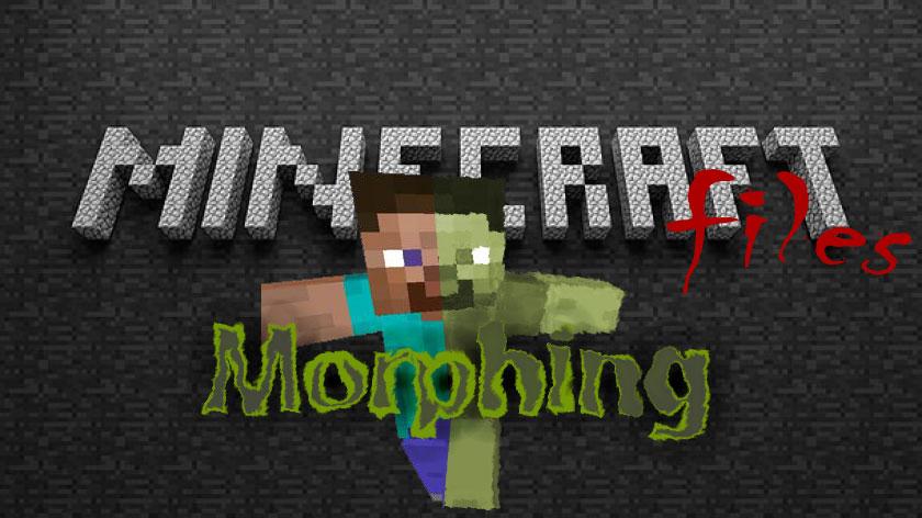 Morphing - превращение в мобов
