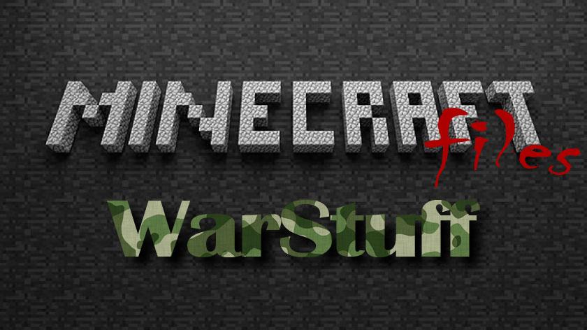 WarStuff - камуфляж, аптечки, гранаты
