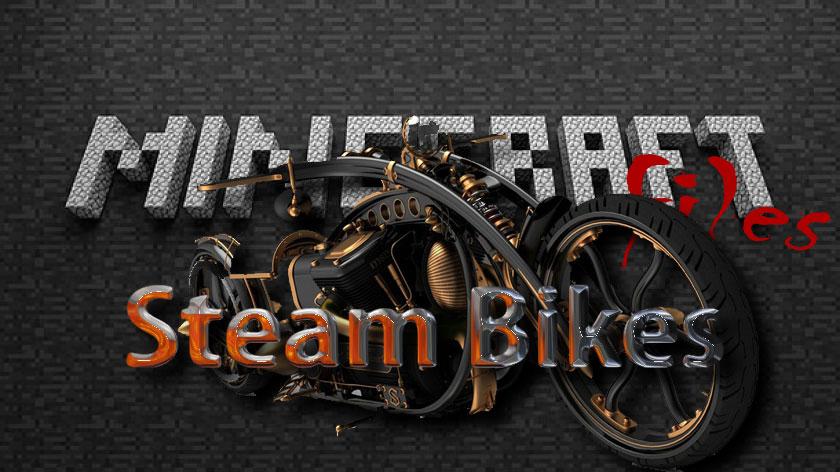 Steam Bikes - стимпанк мотоциклы