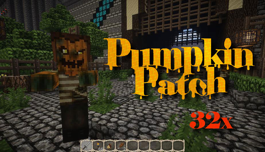 [32x] Pumpkin Patch - текстуры на Хэллоуин