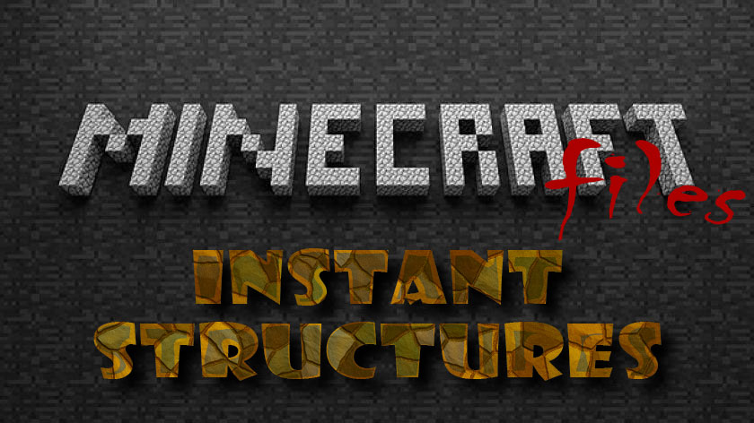 Instant Structures - быстрые постройки