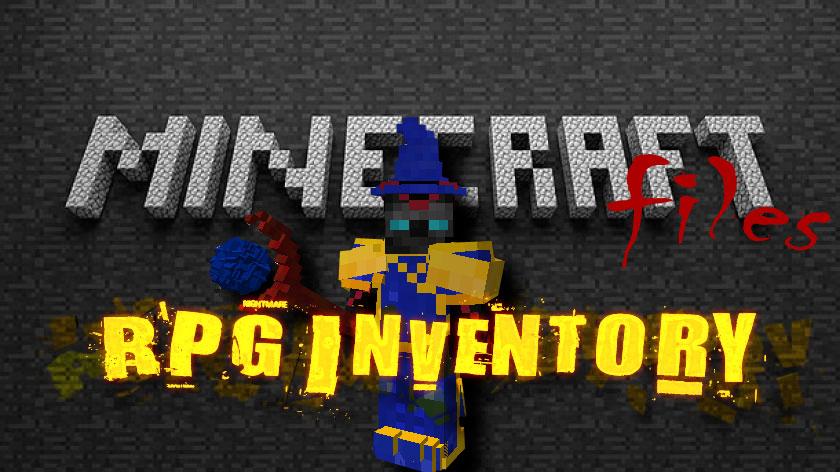 Rpg Inventory - новые классы, оружие, броня