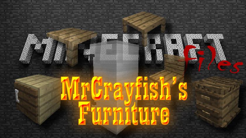 MrCrayfish's Furniture - мод на мебель