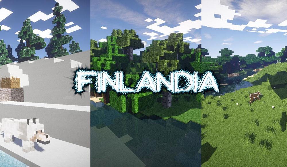 [64x] Finlandia - реалистичные текстуры