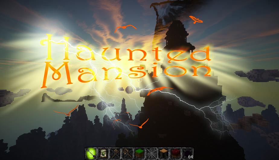 Haunted Mansion - страшная Хэллоуин карта