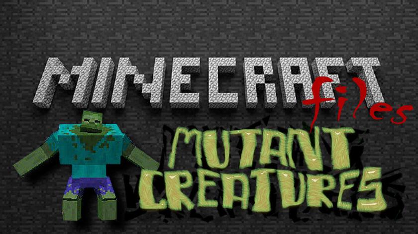 Mutant Creatures - мобы мутанты