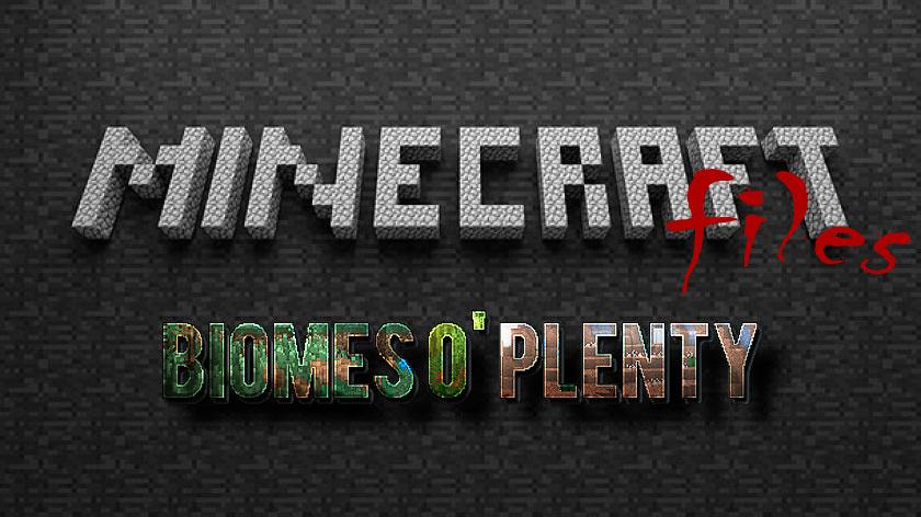 Biomes O' Plenty - мод на новые биомы