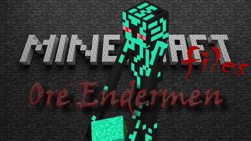 Ore Endermen - эндермен и руда