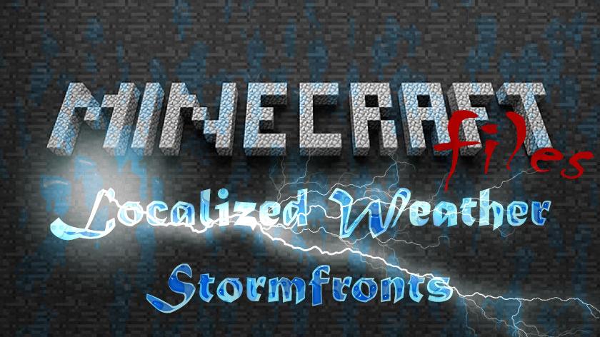Localized Weather & Stormfronts - разная погода