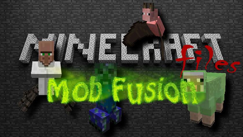 Mob Fusion - скрещивание мобов