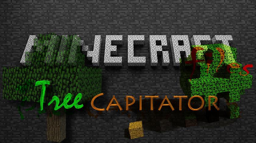 TreeCapitator - рубка деревьев