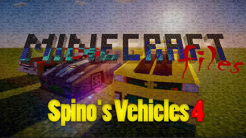 Spino's Vehicles 4 - машины для мода Flan's
