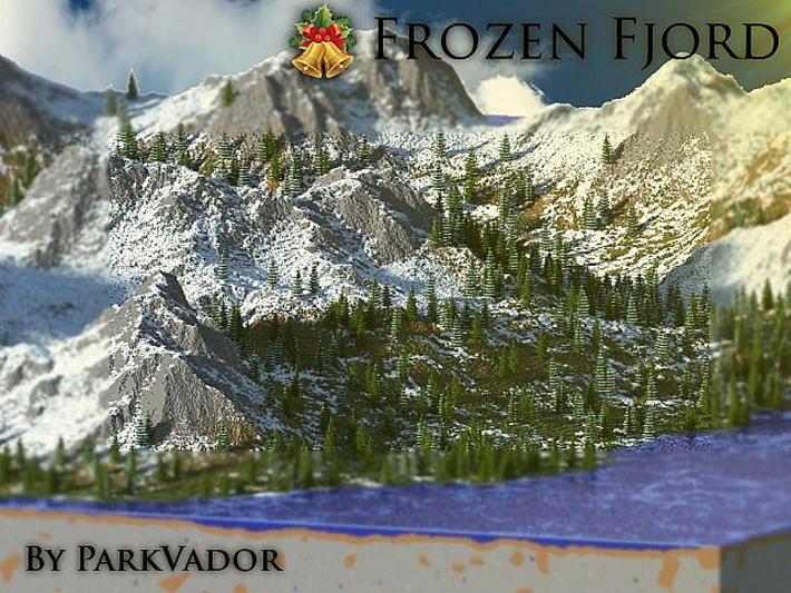 Frozen Fjord - выживание зимой
