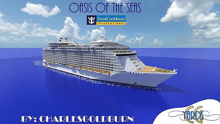 Oasis of The Seas - круизный лайнер