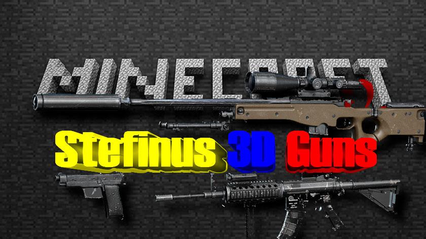 Stefinus 3D Guns - 3d огнестрельное оружие