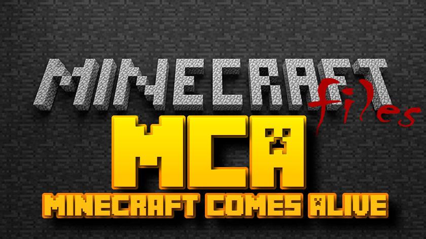 Minecraft Comes Alive - мод на семью