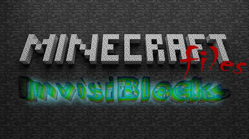 InvisiBlocks - невидимые блоки