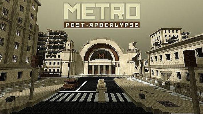 Metro - постапокалиптическая карта