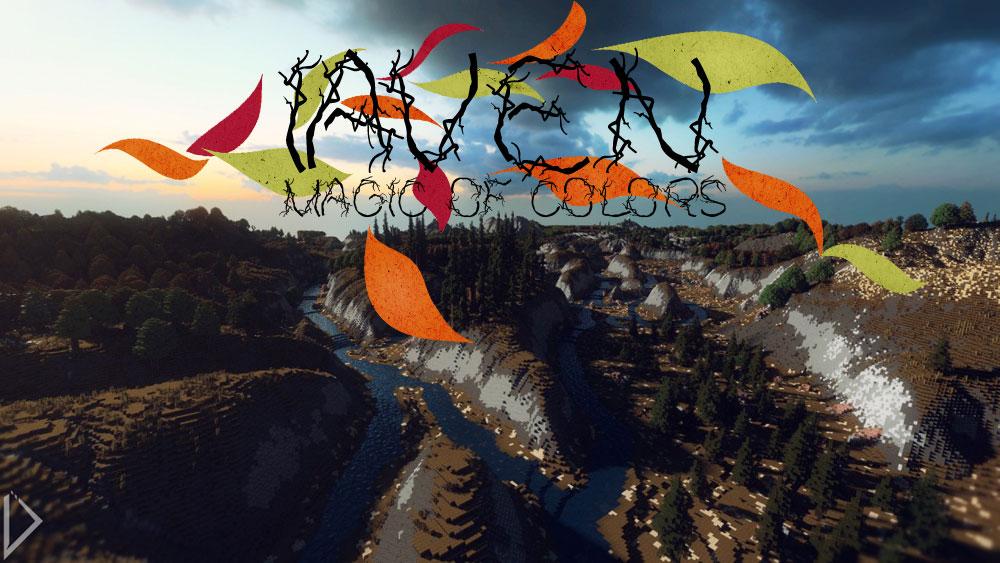 Iaven - Magic of Colors - реалистичная большая карта