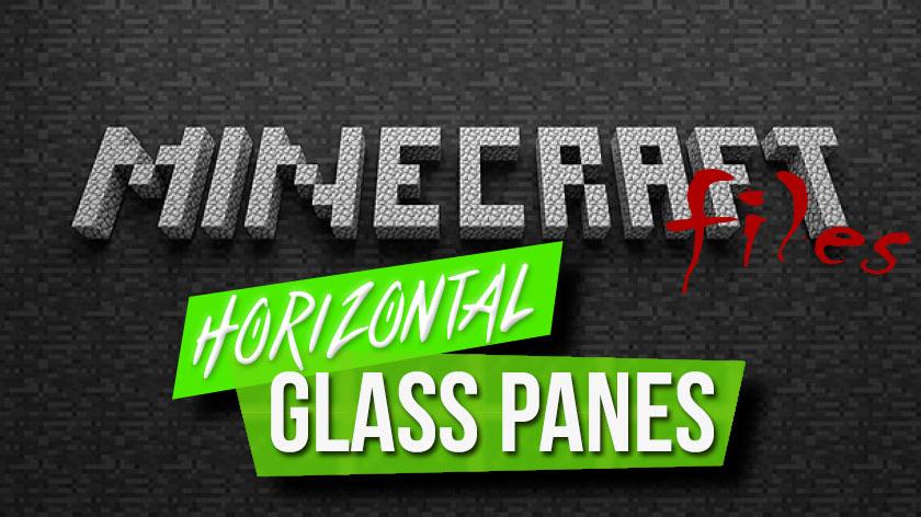 Horizontal Glass Panes - стеклянные панели