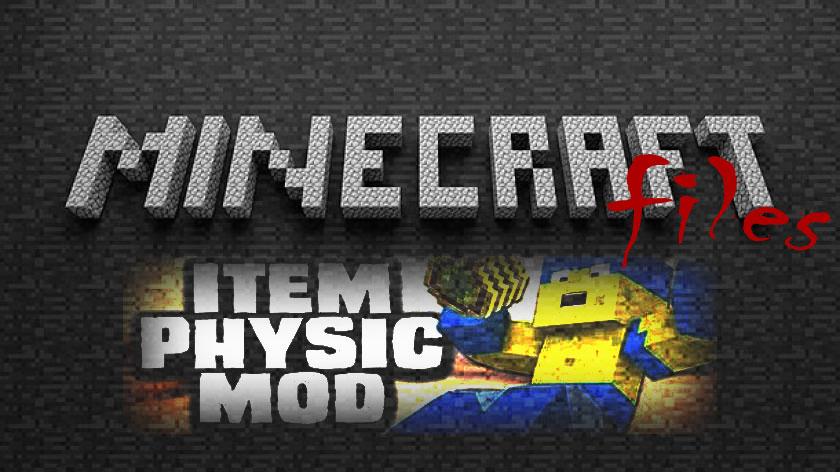 ItemPhysic - реалистичная физика вещей