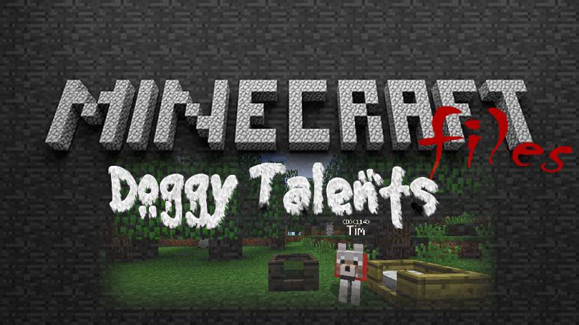Doggy Talents - мод на собак