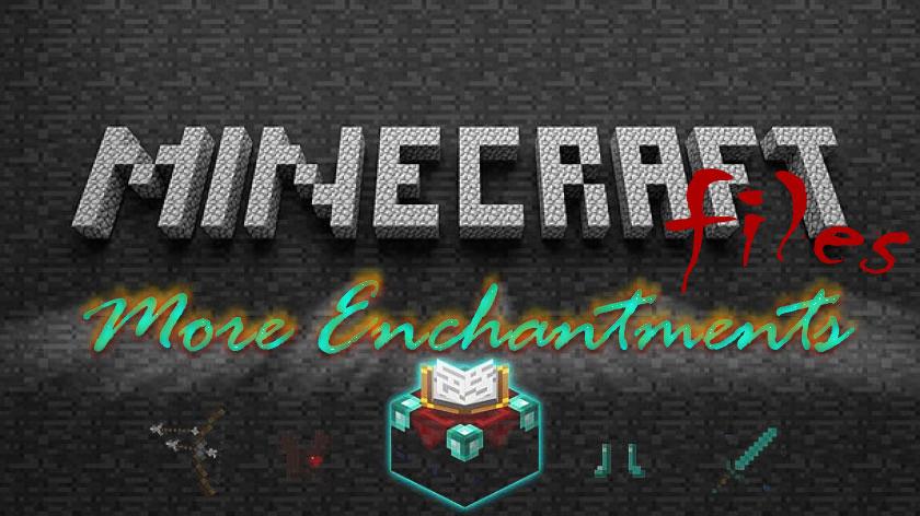 More Enchantments - больше зачарований