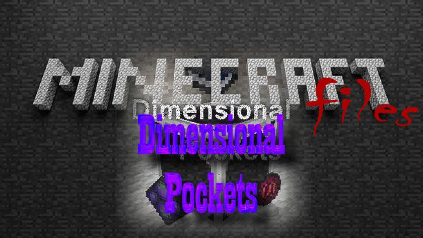 Dimensional Pockets - мир в кармане