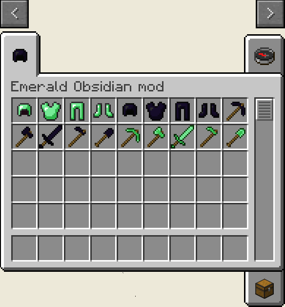 EmeraldandObsidianToolsMod_01