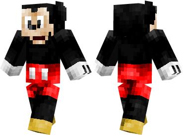 Скин Mickey Mouse