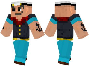 Скин Popeye