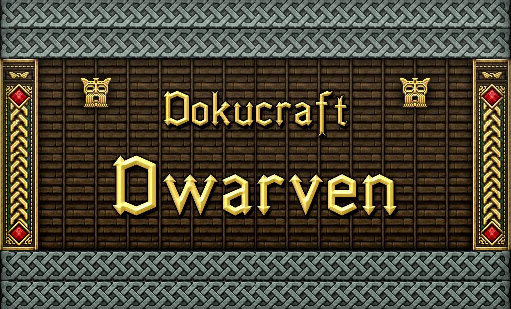 [32x] Dokucraft: Dwarven - текстуры гномов