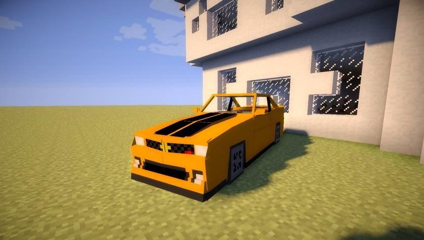 Сборка майнкрафт 1.7.10 с модами на гоночные машины