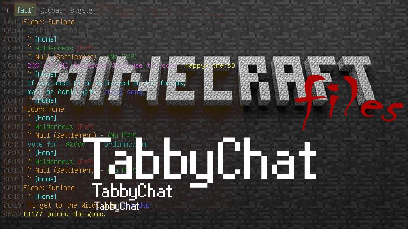 TabbyChat - глобальный чат
