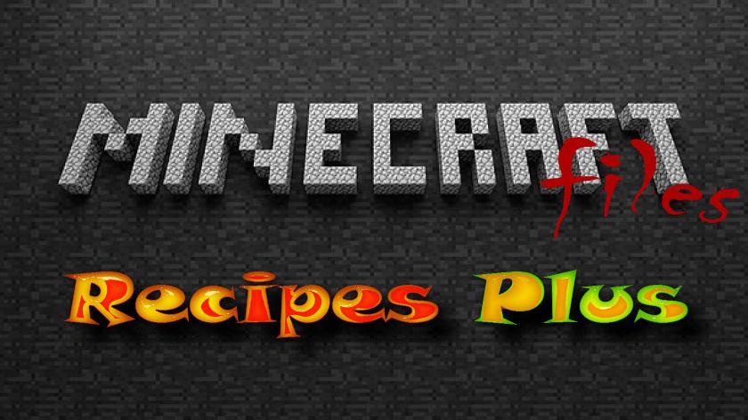 Recipes Plus - новые рецепты крафта
