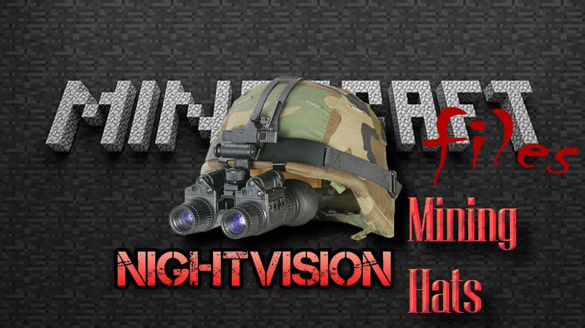 Night Vision Mining Hats - прибор ночного видения