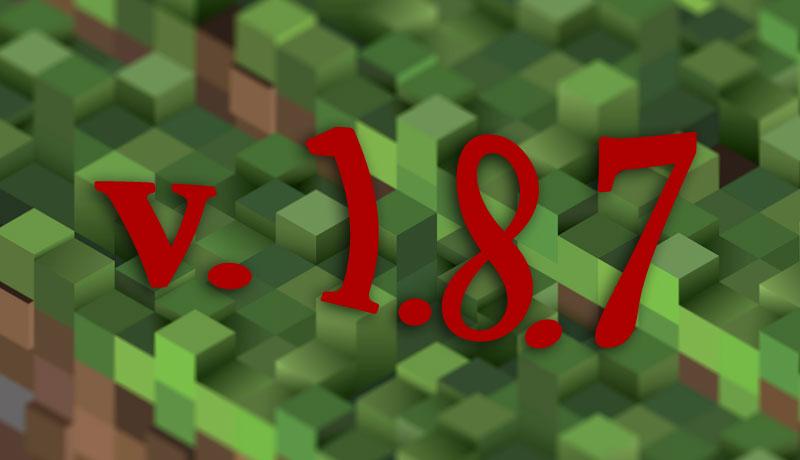 Minecraft 1.8.7