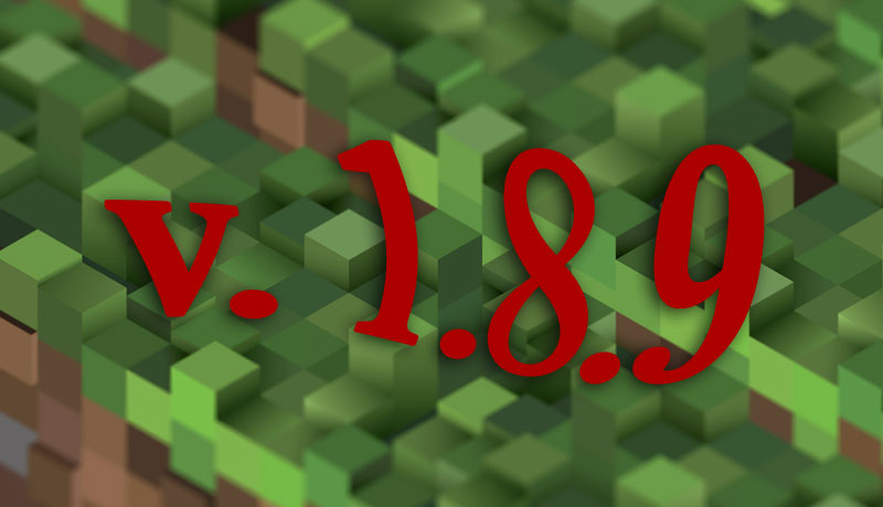 Minecraft 1.8.9