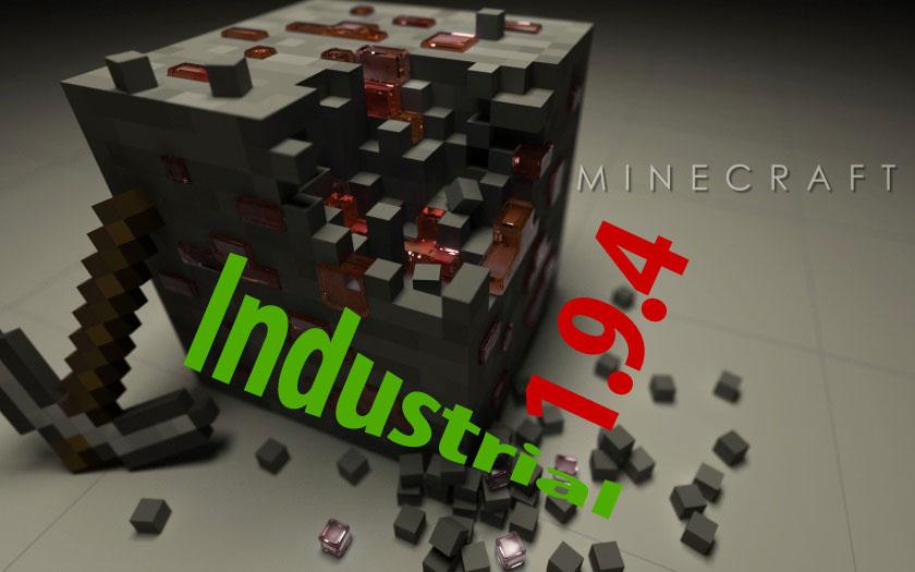Индустриальная сборка Майнкрафт 1.9.4 с модом Industrial Craft 2