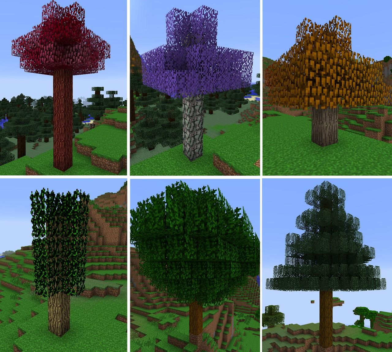 звук дерева в майнкрафте #7