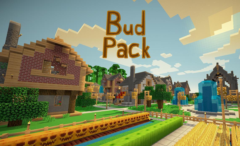 [16x] BudPack - живые, яркие текстуры