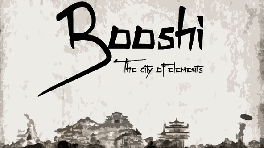 Booshi: The City of Elements - японский город элементов