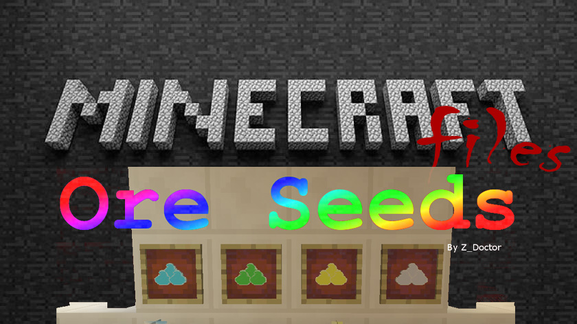 Ore Seeds - выращивание руды