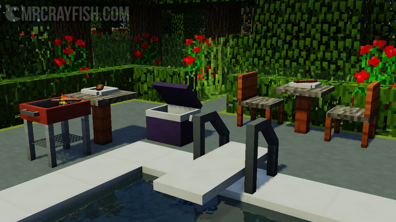 моды для майнкрафт 1.10.2 на мебель #3