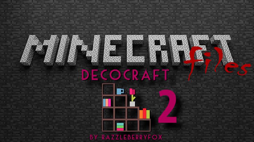 DecoCraft 2 - мод на мебель и декорации