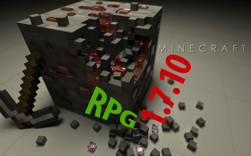 RPG сборка Майнкрафт 1.7.10 для слабых ПК