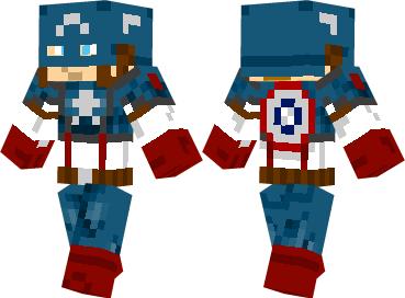 Скин Captain America