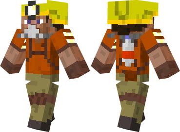 Скин Safety Miner