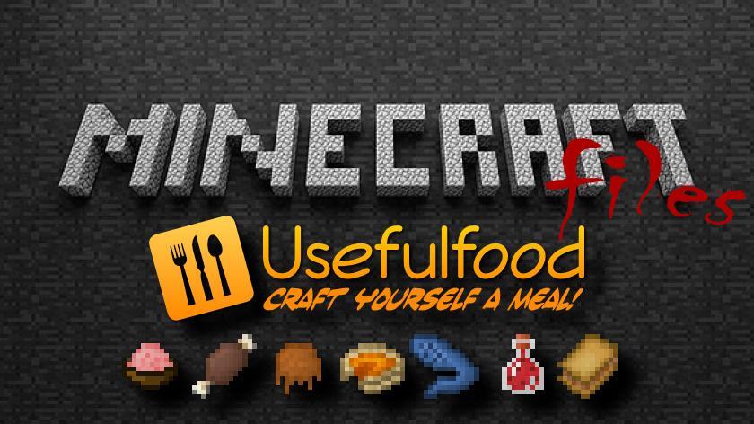 Usefulfood - мод на новую, полезную еду
