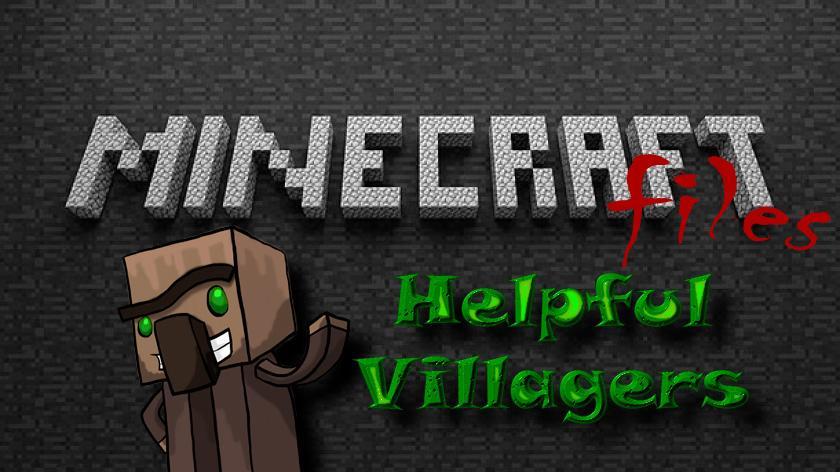 Helpful Villagers - мод на умных жителей